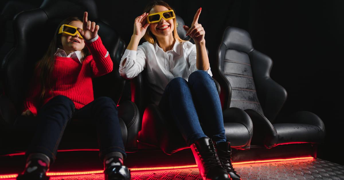 Conheça mais sobre a atração do cinema 7D